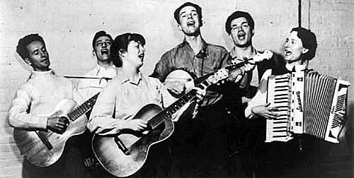 The Almanac Singers... singing
